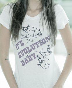 Camiseta Evolution – Feminina – Compridinha