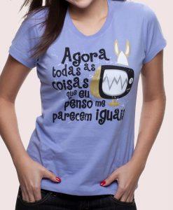 Camiseta Televisão – Feminina