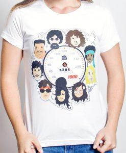 Camiseta 10 anos a 1000 – Feminina – Branca