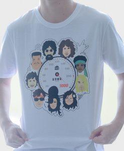 Camiseta 10 anos a 1000 – Masculina – Branca