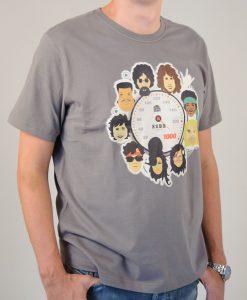 Camiseta 10 anos a 1000 – Masculina – Cinza