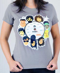 Camiseta 10 anos a 1000 – Feminina – Cinza