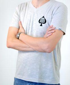 Camiseta Ace of Spades – Masculina – Gola V