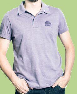 Camiseta Pólo – Masculina – Roxa