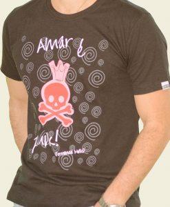 Camiseta Amar é Punk by Fernanda Mello – Masculina