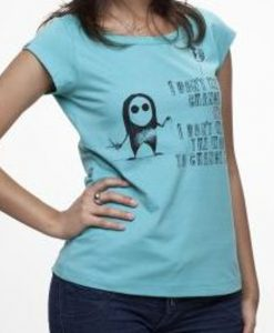 Camiseta I don't wanna – Feminina – Canoa