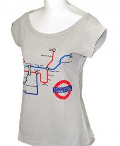 Camiseta Rock'n'roll Connections – Feminina – Compridinha