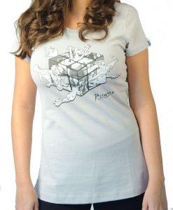 Camiseta Cubo – Feminina