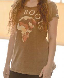 Camiseta Roots – Feminina