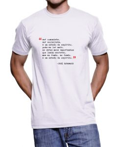 Camiseta Saramago – Masculina